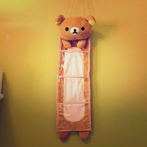 🐻 rilakkuma closet holder 🐻